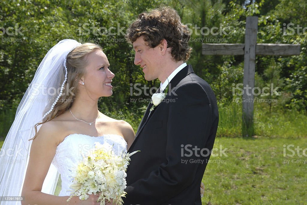 Christian Marriage royalty-free stock photo