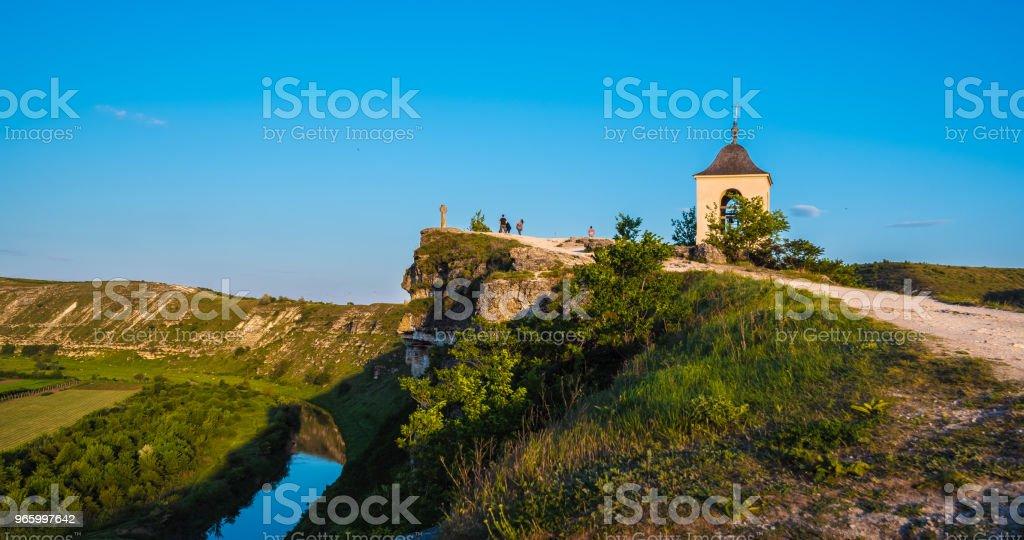 Christlich Orthodoxe Kirche in alten Orhei (Vechi), Republik Moldau - Lizenzfrei Alt Stock-Foto
