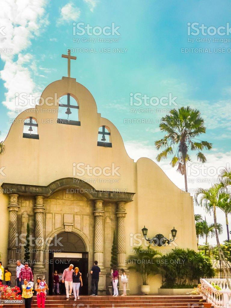 Christian Parrish, Samborondon District, Ecuador - Royalty-free Architectuur Stockfoto
