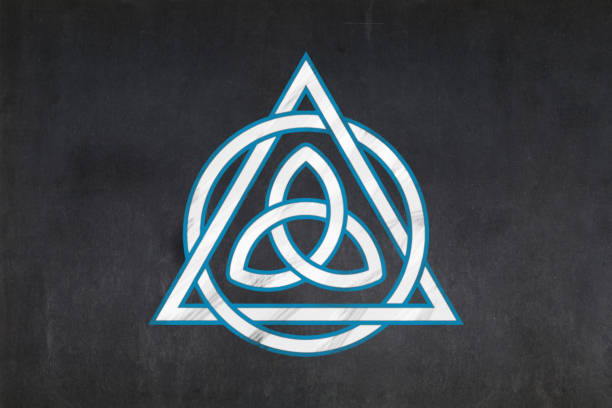 Royalty Free Background Of A Symbols Of The Holy Trinity Pictures