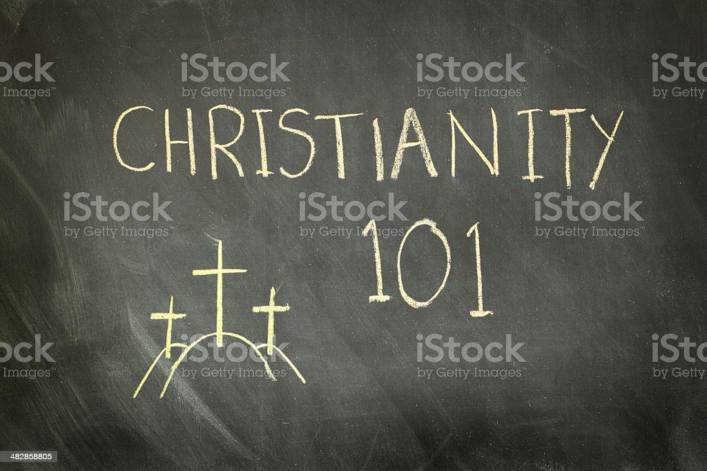 Christianity Class royalty-free stock photo