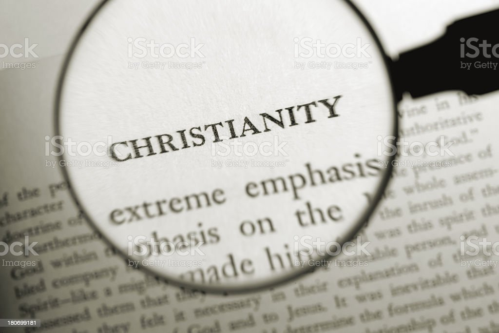 Christianity royalty-free stock photo