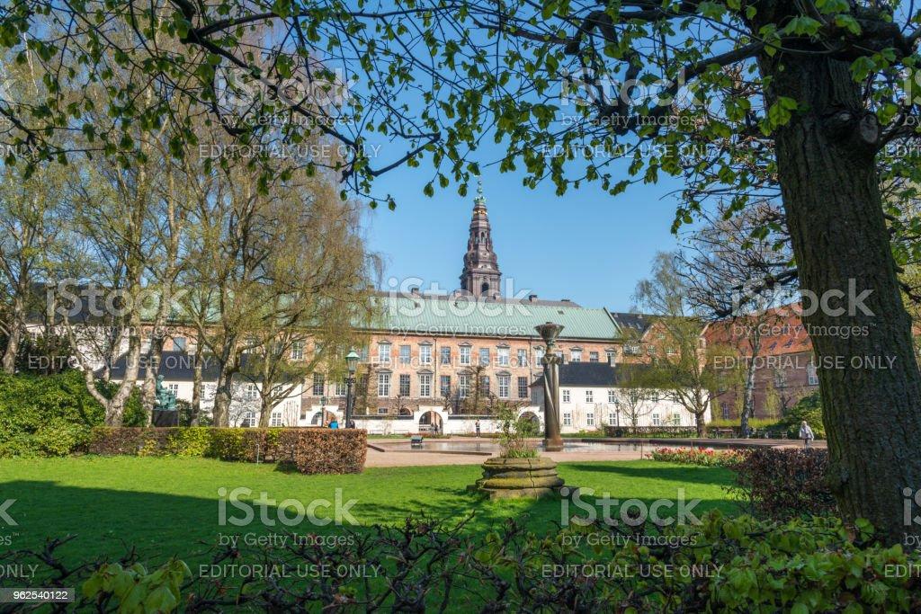 Christiansborg Palace, Copenhagen, Denmark - in spring - Royalty-free Architecture Stock Photo