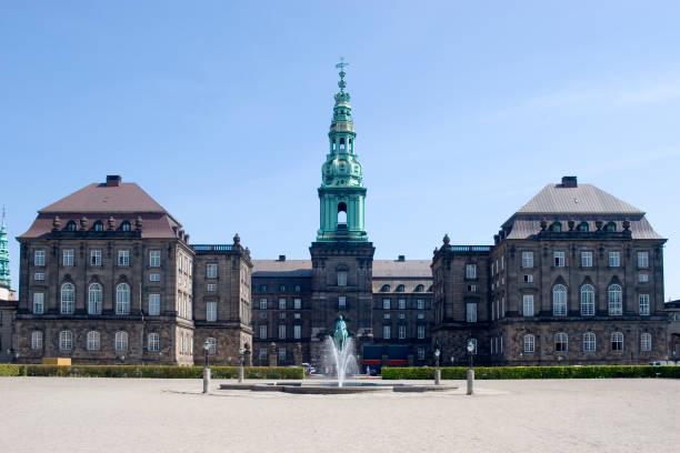 Christiansborg Palace, Kopenhagen, Dänemark – Foto
