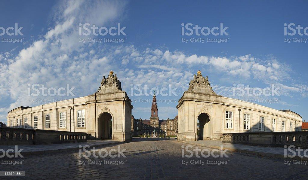 Christiansborg Palace stock photo