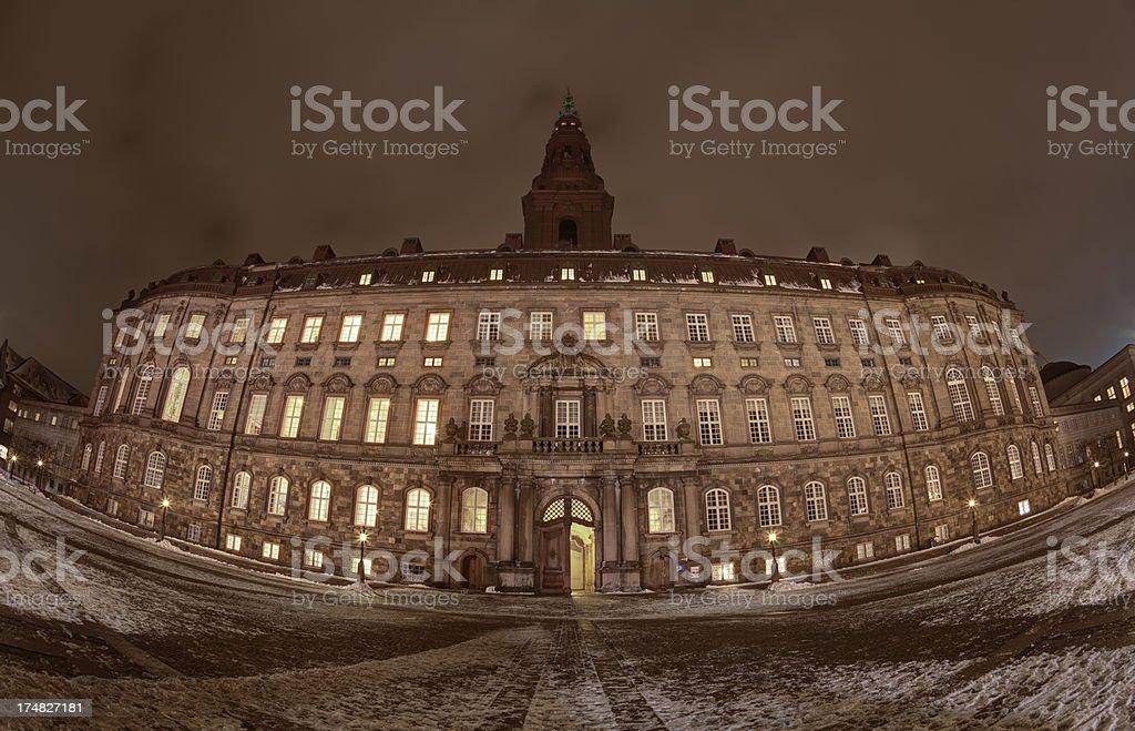 Christiansborg stock photo