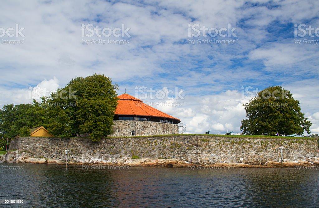 Christiansholm Fortress stock photo