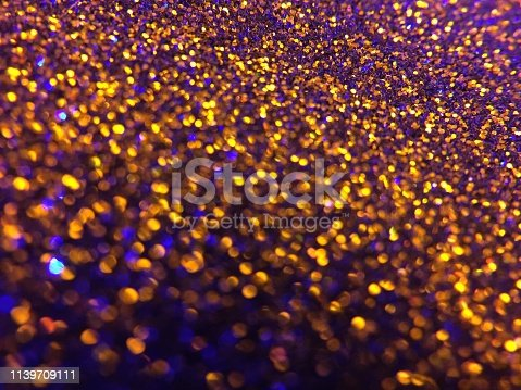1047386704istockphoto Christmas abstract background -gold blue  bokeh 1139709111