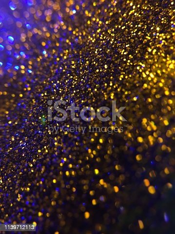 1047386704istockphoto Christmas abstract background -gold blue  bokeh 1139712113