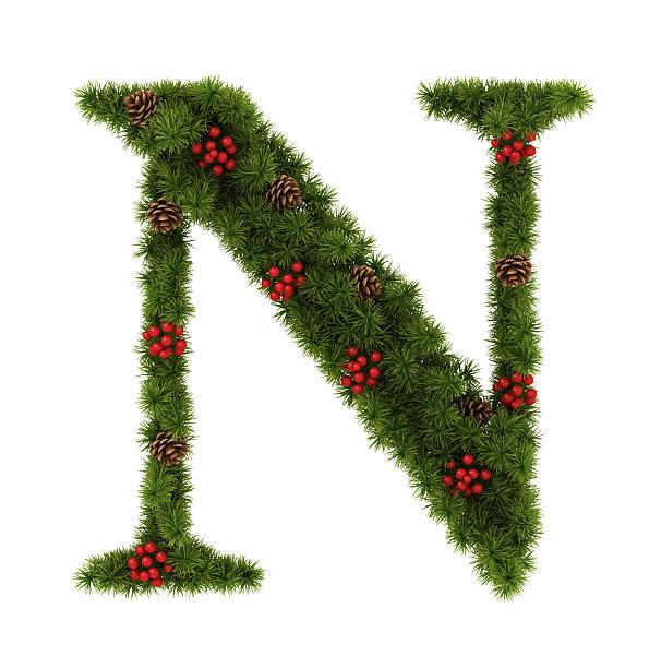 Weihnachten Alphabet. – Foto