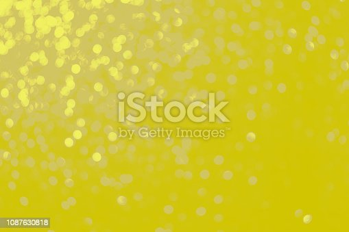 istock Christmas and New Year background with shiny gold stars 1087630818