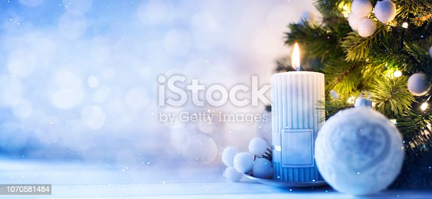 istock Christmas and New Year holidays background 1070581484