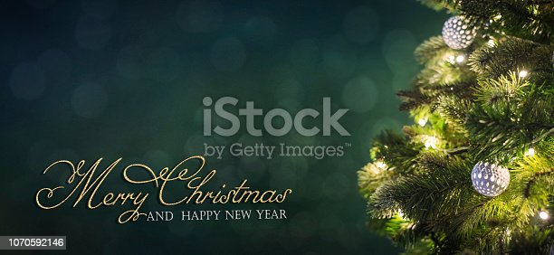 istock Christmas and New Year holidays background 1070592146