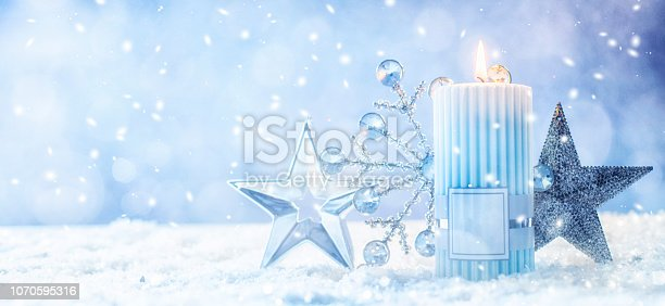 istock Christmas and New Year holidays background 1070595316