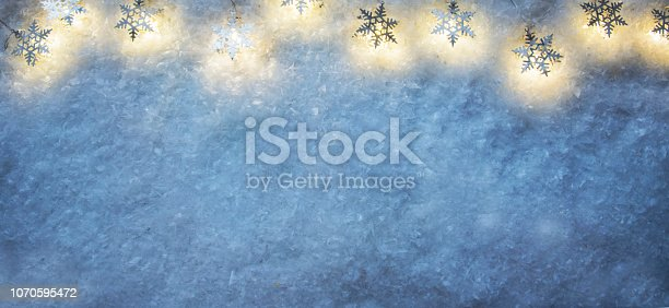 istock Christmas and New Year holidays background 1070595472