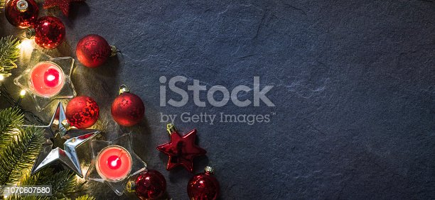 istock Christmas and New Year holidays background 1070607580