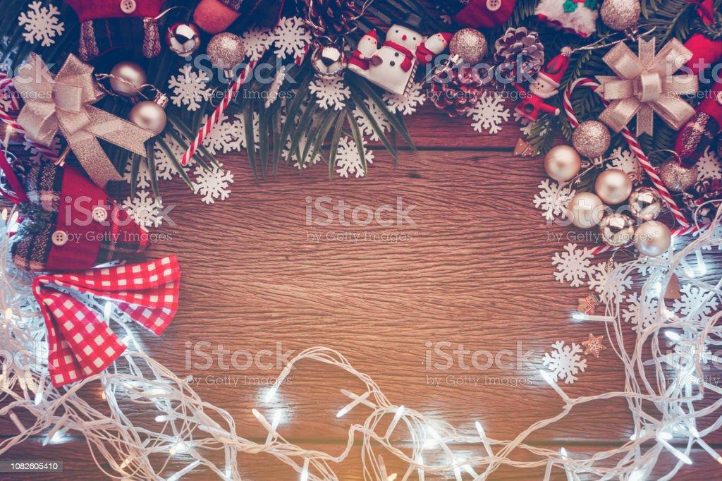 Photo Libre De Droit De Concept De Noël Et Nouvel An Avec