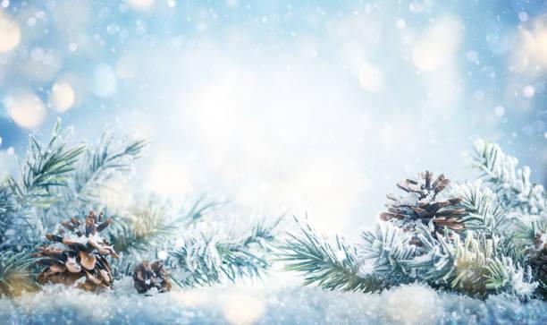 Weihnachts- und Winterkonzept. – Foto