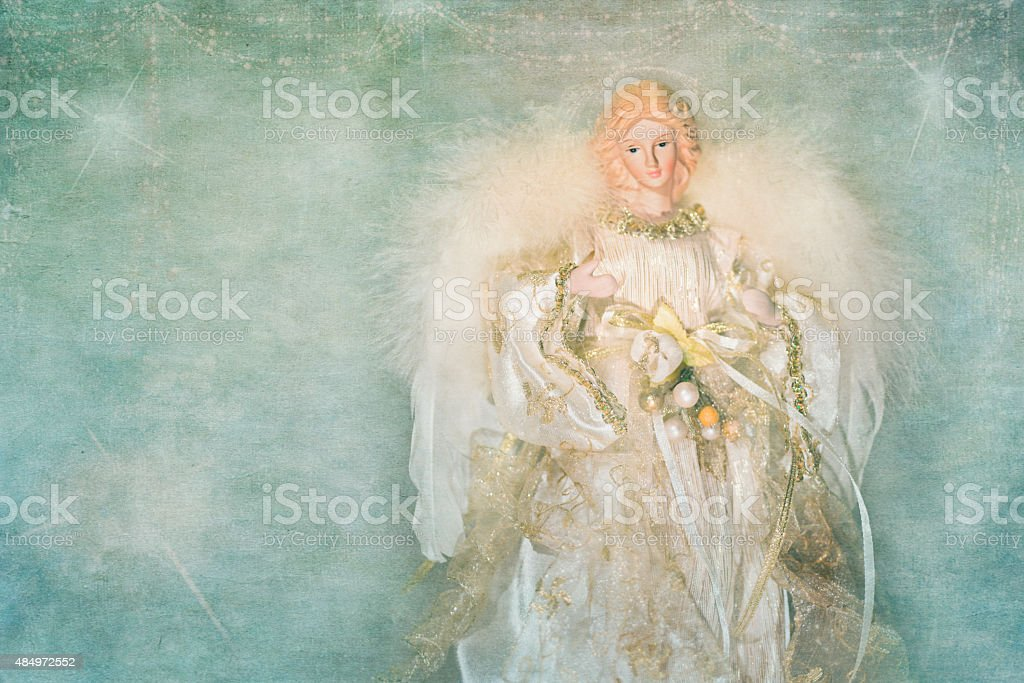 Christmas Angel decoration stock photo