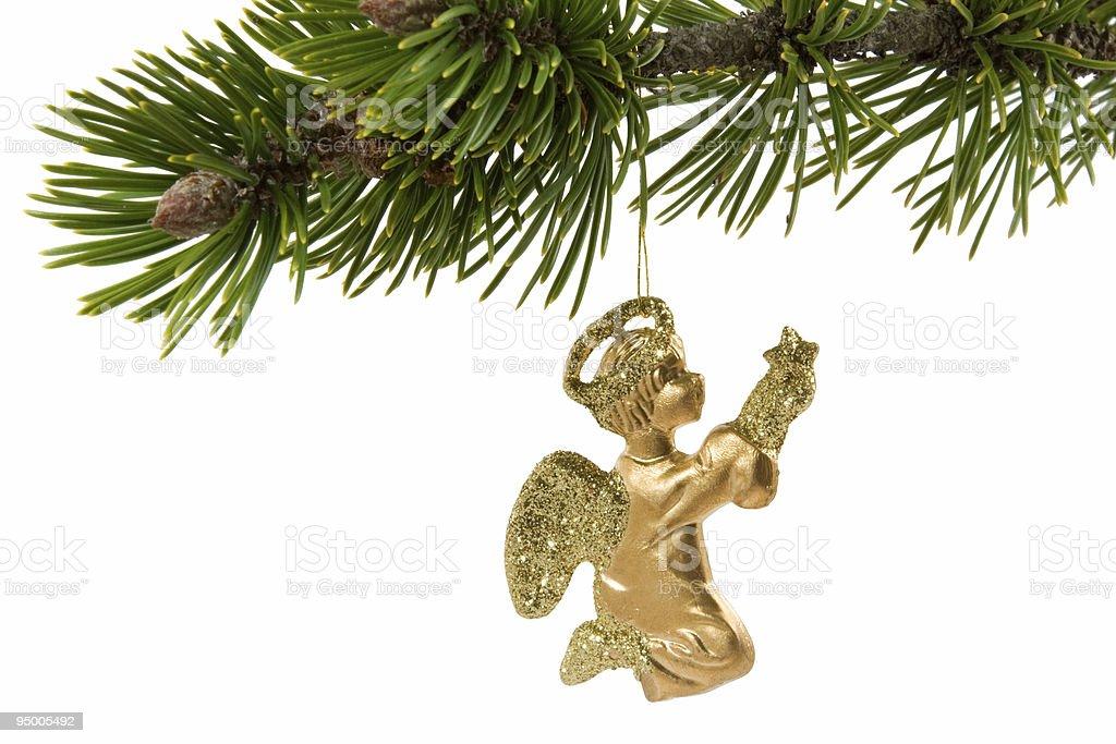 Christmas Angel decoration royalty-free stock photo