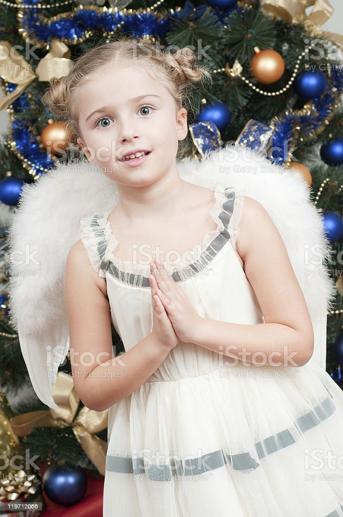 Christmas Angel royalty-free stock photo