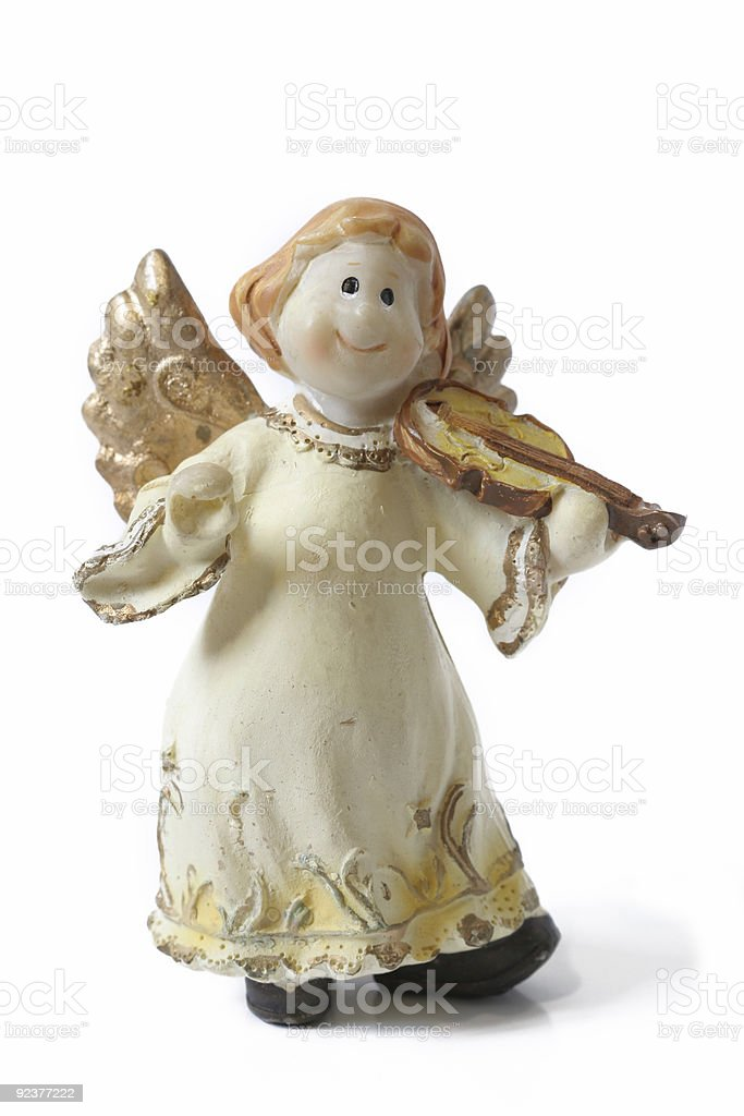 Christmas angel royalty-free stock photo