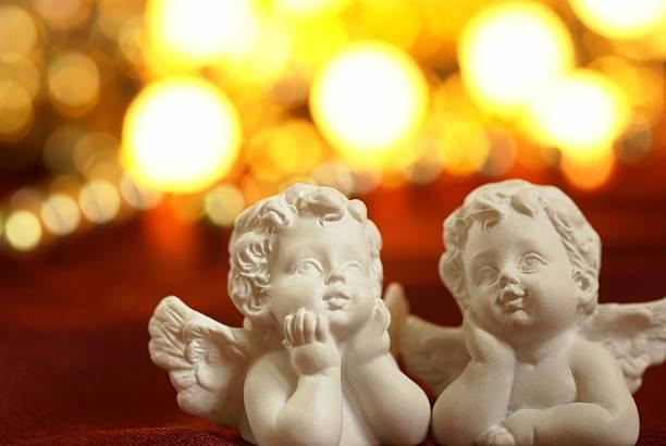 De Navidad angels - foto de stock