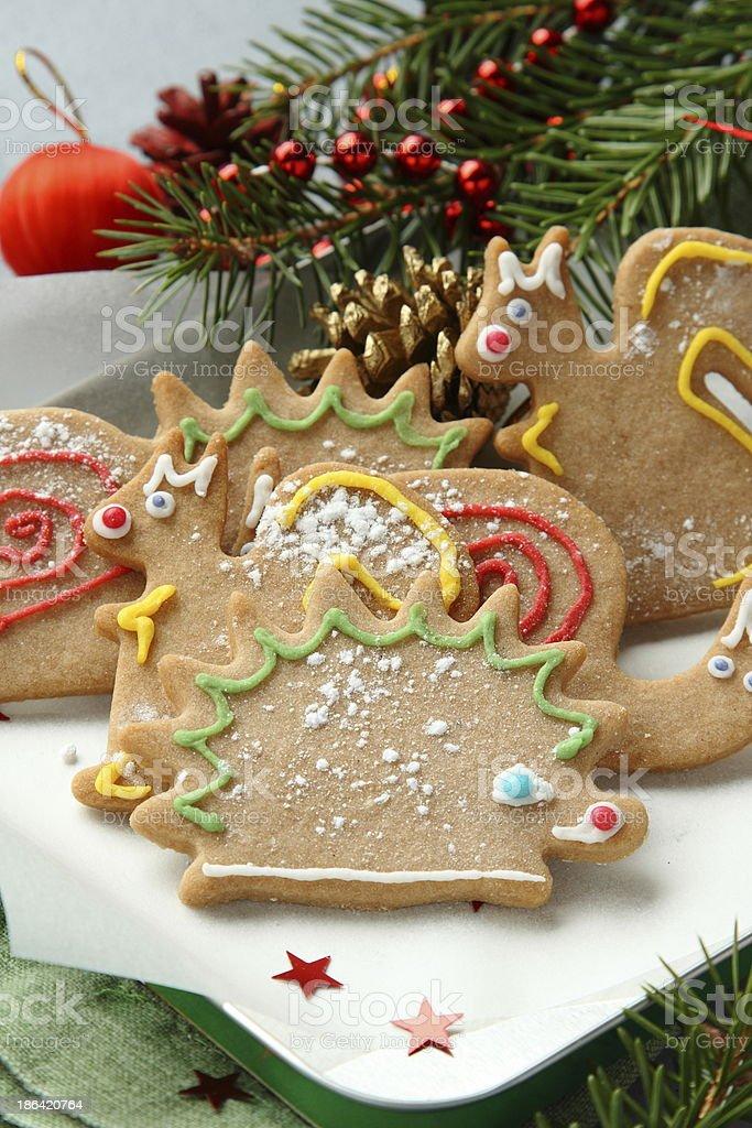 Noel Biscuits En Forme Danimal Avec De Superbes Decorations Pour Les
