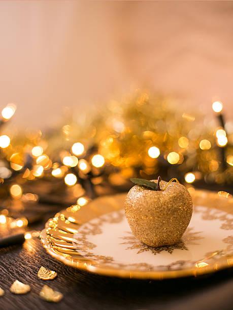 Weihnachten Dekoration Apple – Foto