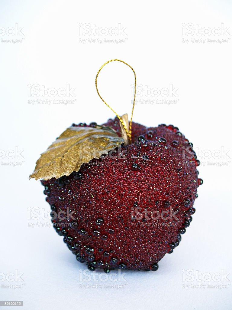 christmas apple royalty-free stock photo