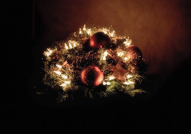 Weihnachts-arrangement – Foto