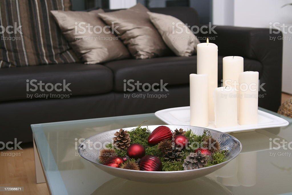 Christmas at home royalty-free stock photo