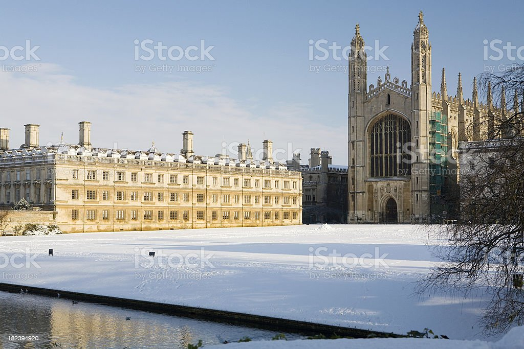 Christmas At Kings College Cambridge Stock Photo & More Pictures of ...