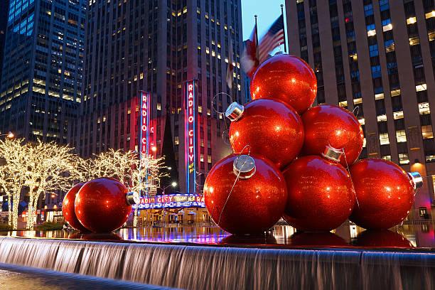 Weihnachten im Rockefeller Center – Foto