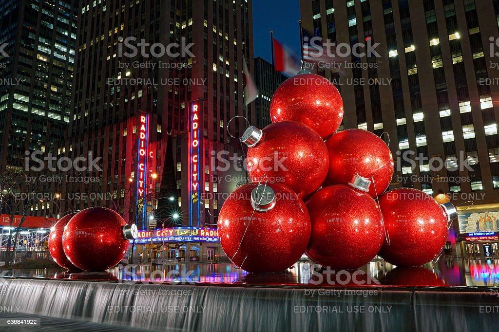 Weihnachten Im Rockefeller Center - Stockfoto   iStock