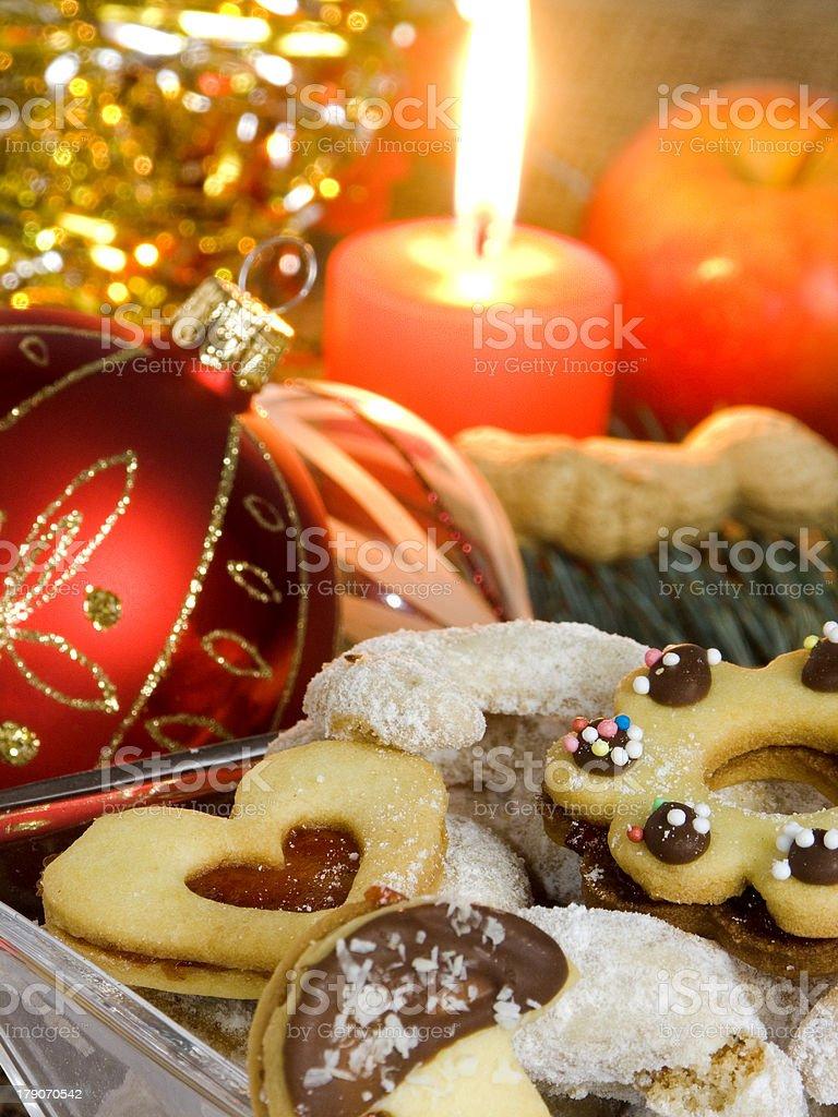 Christmas atmosphere royalty-free stock photo