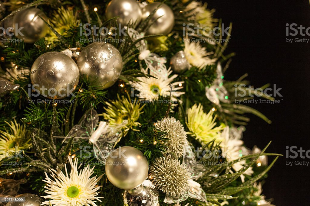 christmas atmosphere stock photo