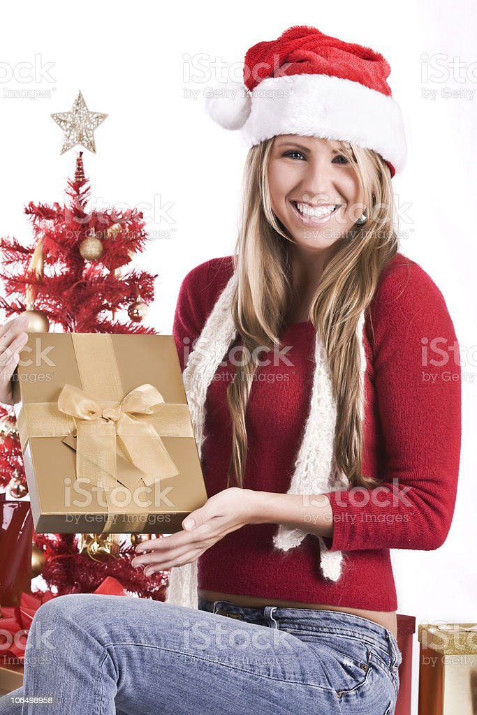 Christmas Babes.Christmas Babe Stock Photo More Pictures Of Beautiful