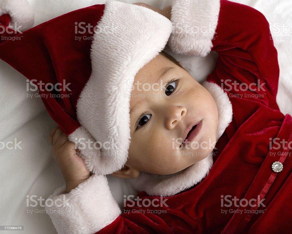 Christmas Baby royalty-free stock photo