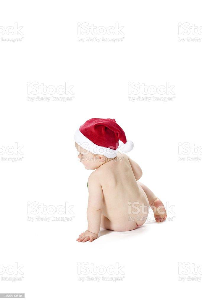 Christmas Baby stok fotoğrafı