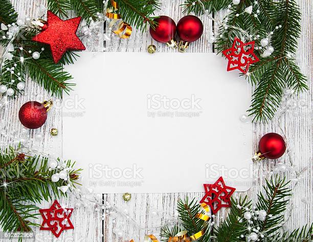 Christmas background blank paper with decoration picture id612822958?b=1&k=6&m=612822958&s=612x612&h=rawz3nl1i0vjdo3bisy42y0mpr4lhaw9thy3qyzq25o=