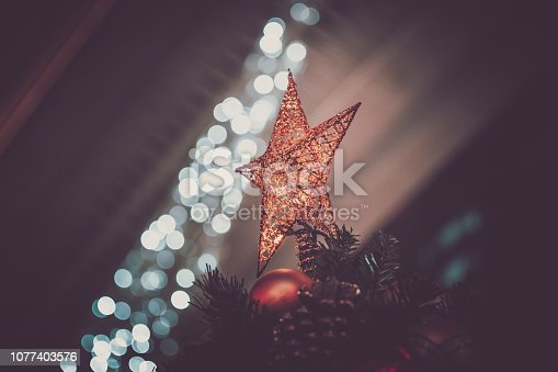 1034181324 istock photo Christmas background; Christmas decorations 1077403576