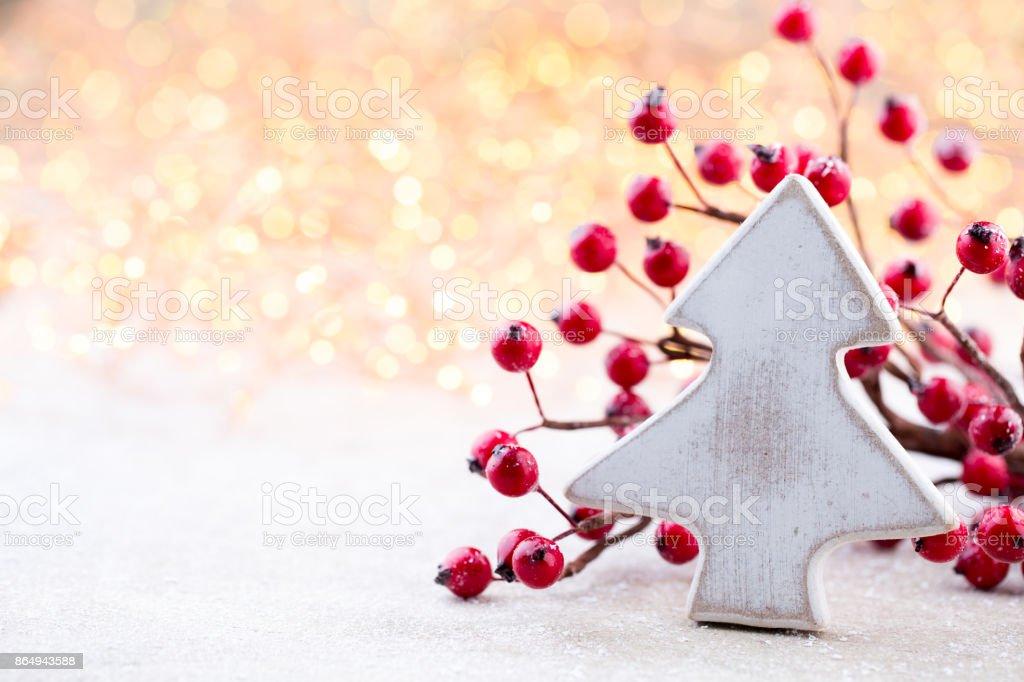 Weihnachten Hintergrund Weihnachtsstern Und Santa Hut Grußkarte ...