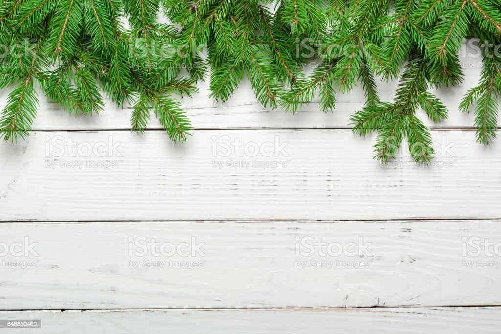 Christmas background. Congratulations on the New Year. Family meeting. White plank. stock photo