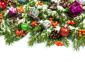 istock Christmas background. Eve framework 489483285