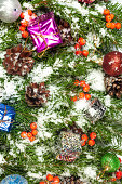istock Christmas background. Eve framework 489483287