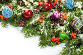 istock Christmas background. Eve framework 489483289