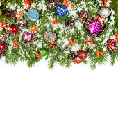istock Christmas background. Eve framework 489483291