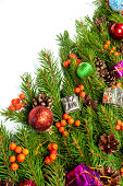 istock Christmas background. Eve framework 489542787