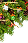istock Christmas background. Eve framework 489542789